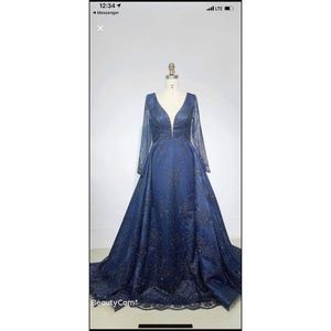 Custom Pageant Gown